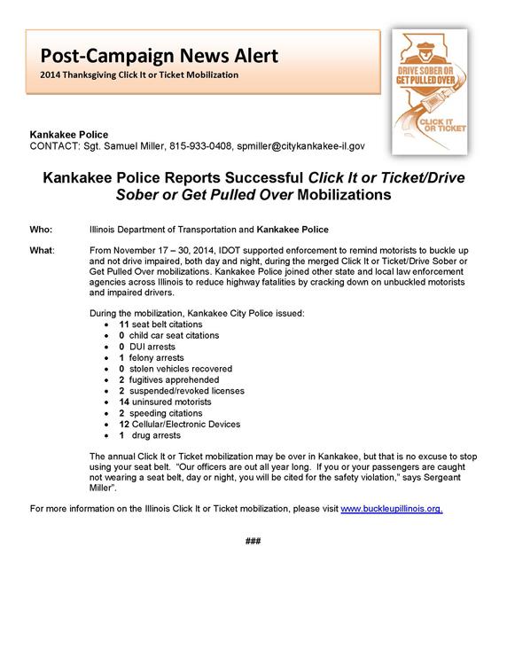 Kankakee Police Department